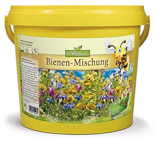 NLChrestensen Big Eimer-EIN Paradies für alle Insekten Bienenweide Bienenfreundliche Mischung Blumensaatgut Mehrfarbig