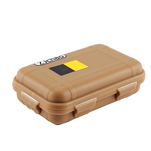 Dilwe Stoßsichere Box Wasserdichte Survival Aufbewahrungsbox Kunststoff Stoßfest Container Box