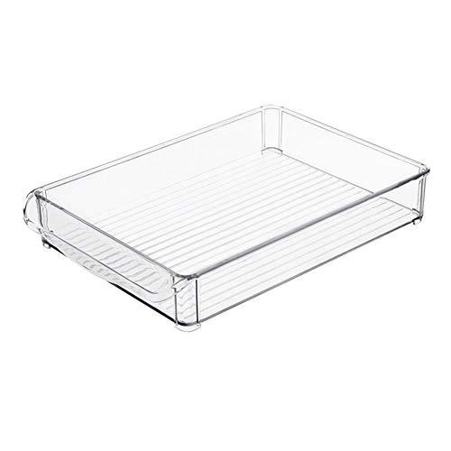Kühlschrank Aufbewahrungsbox Kunststoff Aufbewahrungsbox Rechteckige Nudeln Gemüse Obst Küche Aufbewahrungsbox Organizer Trays Gestapelt werden