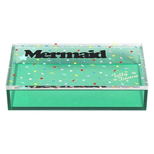 Tatty Devine Meerjungfrau Aufbewahrungsbox Grün Medium