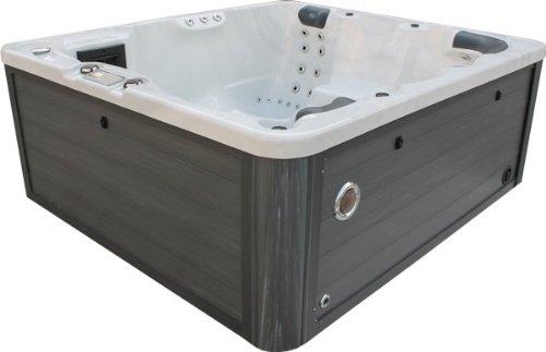 Vasa-Fit Whirlpool W200 Whirlpool aus hochwertigem Sanitäracryl für 4-6 Personen Sky White