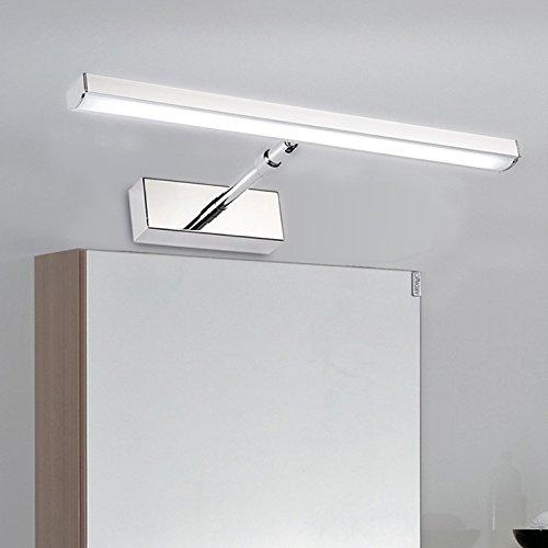 AGECC 110-230V Wandleuchte Lampe für den Innenbereich Moderne Linsenscheinwerfer LED Spiegel Lampe Schrank Bad Badezimmer Nebel auf der Kommode warmes weißes Licht 59cm16w