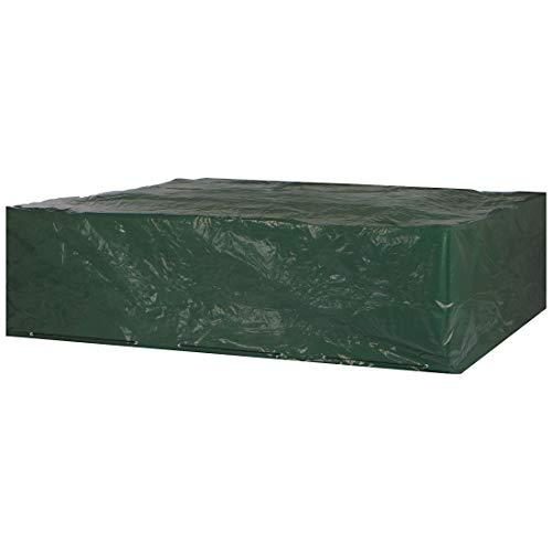 Ultranatura Gartenmöbel Abdeckung  robuste Schutzhülle für eine komplette Gartenmöbel-Gruppe wetterfeste und wasserdichte Abdeckplane für Gartenmöbel jeder Art 245x195x80cm