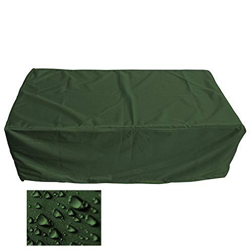 Premium Schutzhülle Gartenmöbel AbdeckungGartentisch Abdeckplane B 220cm x T 100cm x H 110cm Olivgrün