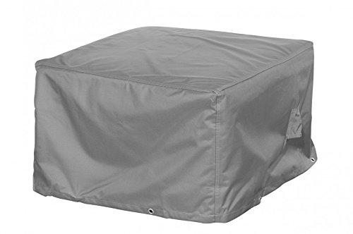 Loungehocker Schutzhülle  Abdeckung für Gartenhocker - Premium 100 x 100 x 45 cm wasserdichte Abdeckplane für Gartenmöbel Tisch  Oxford 600D Polyestergewebe  mit Ventilationsöffnungen