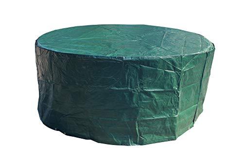 Laxllent Schutzhülle für TischWasserdicht Gartenmöbel AbdeckungAtmungsaktiv Abdeckhaube für StühleSofaDia190x70cmPEGrün