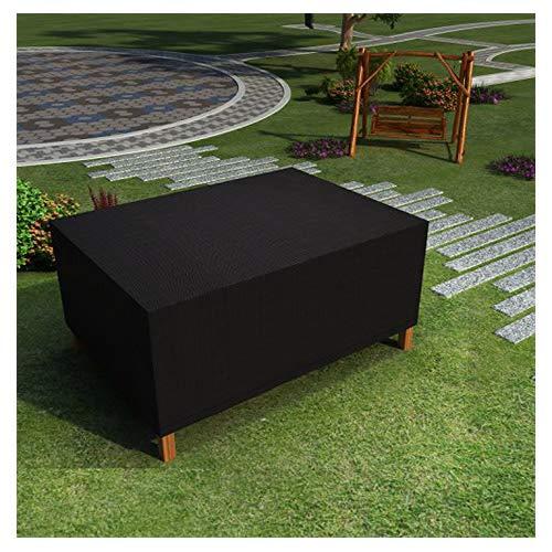 Buyi-World Sitzgruppe Abdeckplane Abdeckung Schutzhülle für Gartentisch Lounge-Möbel Inklusive Tragebeutel Wasserdicht rechteckig 280 x 206 x 108 cm