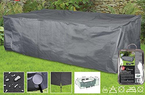 Boni-Shop Deluxe Abdeckhauben für Gartenmöbel Schutzhüllen Sitzgruppeca230x135x70