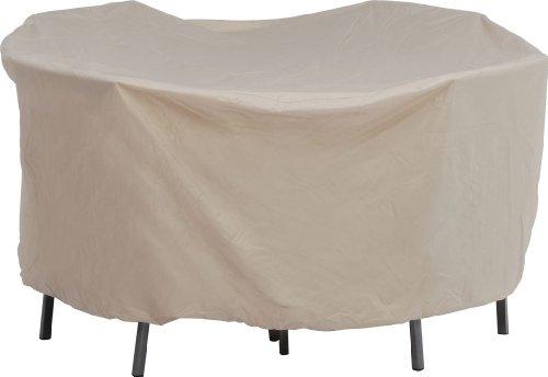 Stern 454942 Schutzhülle für Sitzgruppe oval circa 210 x 250 x 90 cm natur