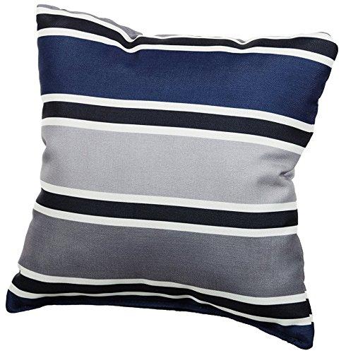 Palettenkissen Palettenauflagen Sitzkissen Rückenlehne Gesteppt 120x40 120x80 Deko-Kissen 40x40 Blau-Grau 2