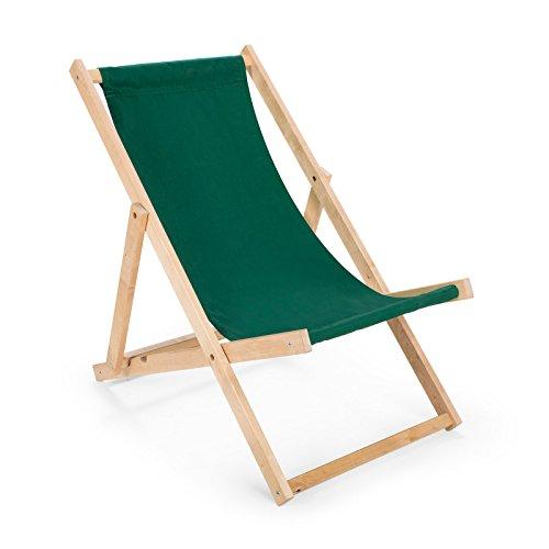 Holz Sonnenliege Strandliege Liegestuhl aus Holz Gartenliege N6