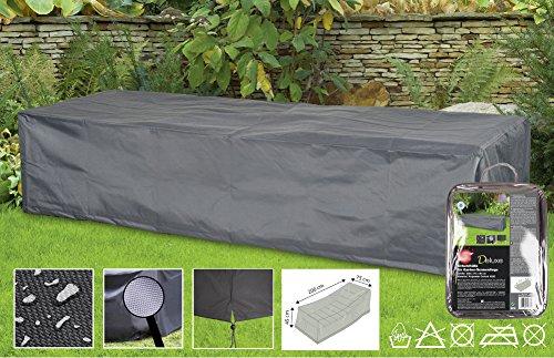 Boni-Shop Deluxe Abdeckhauben für Gartenmöbel Schutzhüllen Liegeca200x75x45