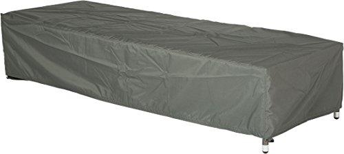 Stern Schutzhülle für Gartenmöbel Liege uni grau 200 x 75 x 40 cm 09 ml 454803