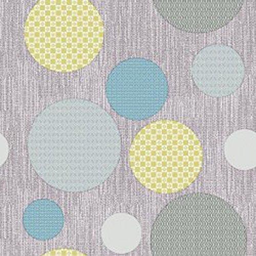 Wachstuch Bubbles Blau Glatt · Eckig 120x200 cm · Länge wählbar· abwaschbare Tischdecke