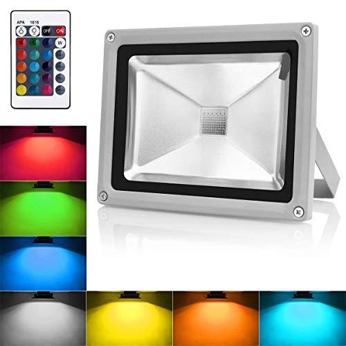 20W LED Fluter Bewegungsmelder Kaltweiß Strahler Licht Wasserdich Sicherheits-Leuchten mit PIR für Heim Garten Garage