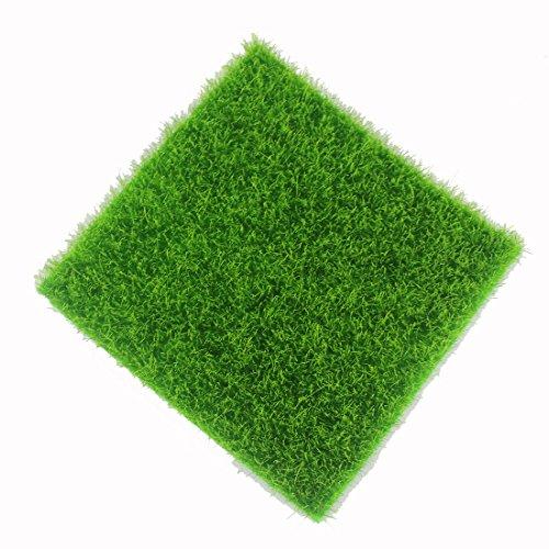 Künstliche Gras gefälschte Rasen gefälschte Gras Miniatur DIY Puppenhaus Garten Heim Dekoration Ornament