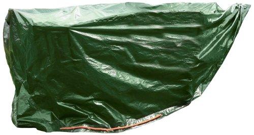 Rainexo Abedckung für Gartenmöbel - Tisch oval hochreißfest 240 x 180 x 090 m Grün