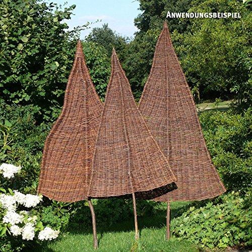 VIDEX-Sichtschutz-Weidenbaum Natur Klein Ca B 80cm x H 160cm Davon 65cm Stamm