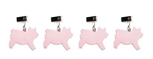 Charcoal Companion Tishdecken Gewichte für Tischdecken rosa 102 x 27 x 1151 cm CC5098
