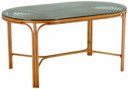 BEST 42051511 Dining-Tisch Bayon oval 150 x 90 cm