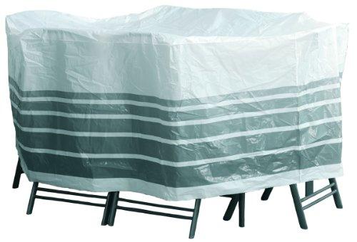 Sanifri 470013324 Schutzhaube für ovalen Tisch und 6 Sessel