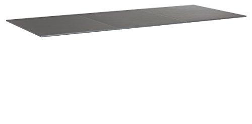 KETTLER Advantage Esstische Kettalux Plus Tischplatte 220 x 95 cm Schieferoptik schwarz