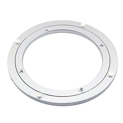 Owfeel Durchmesser 250 mm Aluminium Drehtisch Drehplatte für Esszimmer Tisch Kugellager