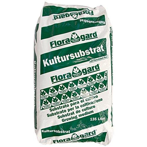Floragard TKS 1 135 L • fein strukturiertes Kultursubstrat • professionelle Anzucht- und Aussaaterde • für Aussaat und Pikieren von Jungpflanzen • mit dem Naturdünger Guano