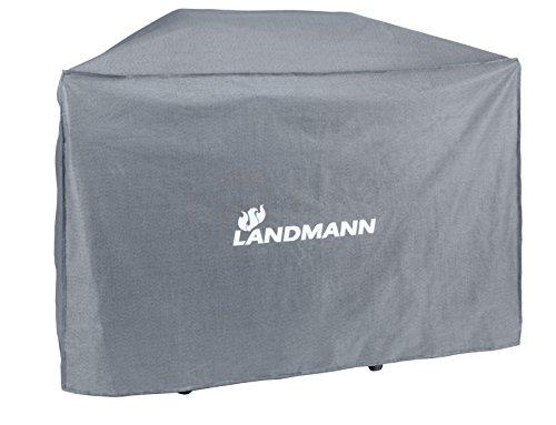 Landmann 15707 Premium XL Grillabdeckung Abdeckhaube Wetterschutzhaube Schutzhülle Grau