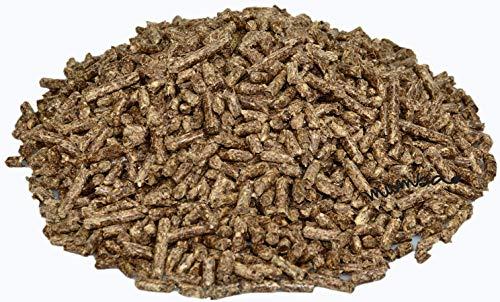 mumba 30kg Pellets aus dem Material FichteKiefer 2 zwei Säcke Abgepackt je 15kg pro Sack im straffen Foliensack für Kamin Ofen Herd Grill oder Lagerfeuer