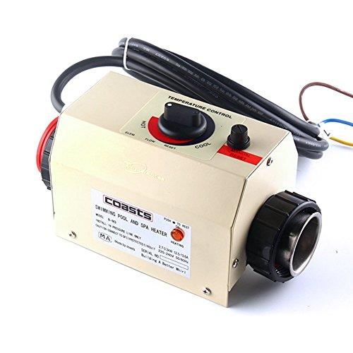 Schwimmbad Swimmingpool Thermostat 220V elektrische Heizung Poolheizung Pool Heater Wärmetauscher 2KW Thermostat