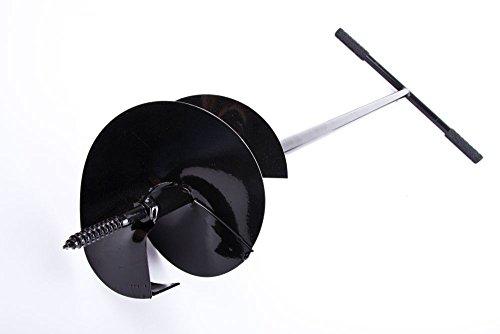 Unbekannt Handbohrer Erdbohrer Handerdbohrer Erdlochbohrer Durchmesser 170mm