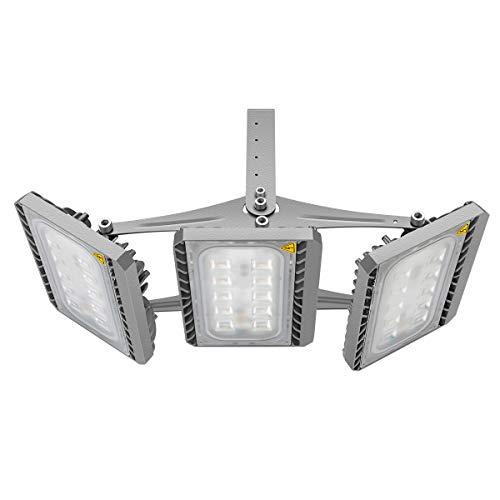 GOSUN Super Hell 150W LED Fluter Außenstrahler 13500Lumen 230V IP65 CREE SMD5050 Warmweiß 36 Monate Garantie