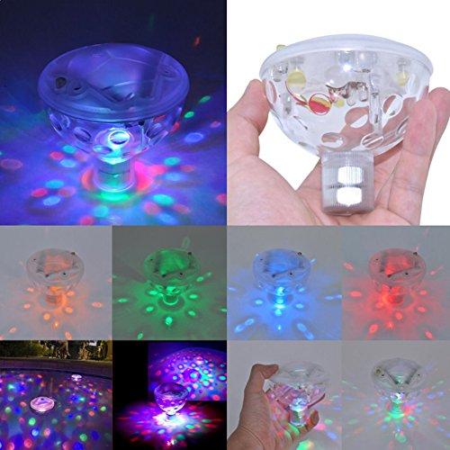 EMOTREE Unterwasser LED RGB Licht Springbrunnen Poolbeleuchtung Party Kristall Lampe Badewanne Licht