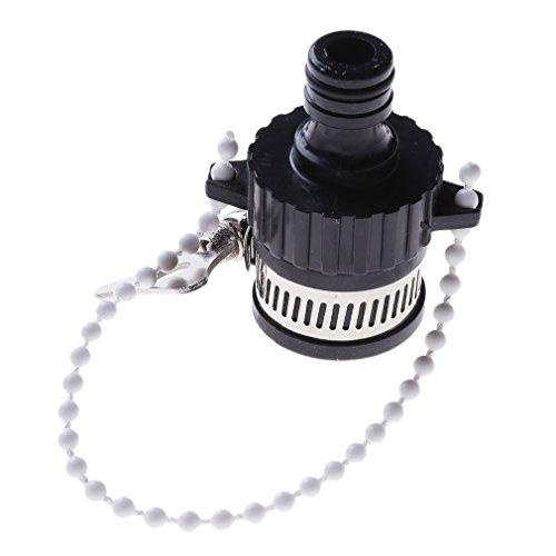 ODN Universal-Wasserhahn-Steckverbinder-Adapter Küchen-Schlauch-Rohr-Tischler-Befestigung