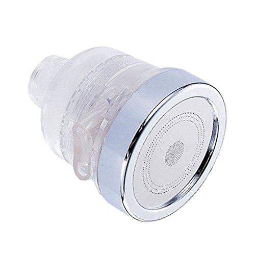 D DOLITY Wassersparer Wasserhahn Brausekopf Strahlregler Ventil Sparerventil Armatur - Silber