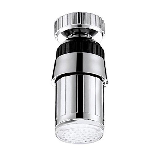 Solar Outdoor Lichterkette Clode Spülbecken 7 Farbwechsel Wasser Leuchten Wasser Dampf Dusche LED Wasserhahn Armaturen Licht