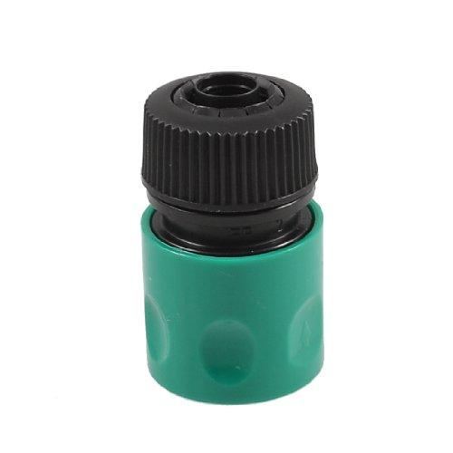 Sourcingmap 27 mm Gewinde Quick Armatur Wasserhahn-Anschluss GrünSchwarz