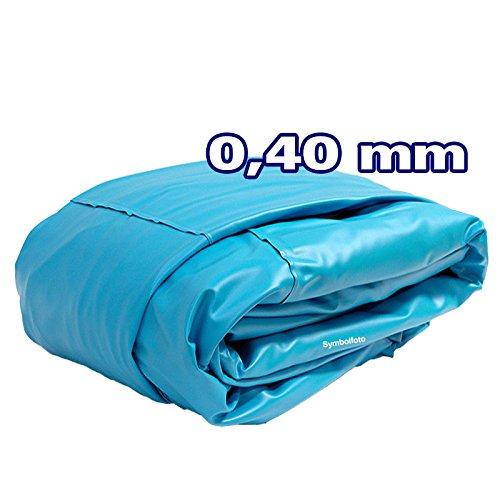 Innenhülle Rundpool Ø 360 x 090 m überlappend  Stärke 040mm blau