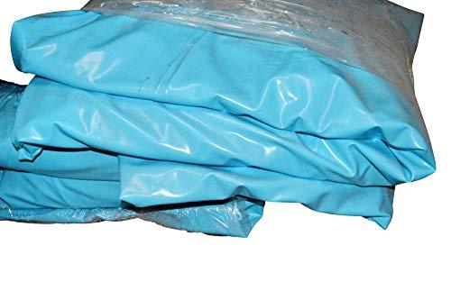 Weixelbaumer Pool-Innenhülle Schwimmbad Folie 460 x 120m blau 05mm Ersatzfolie