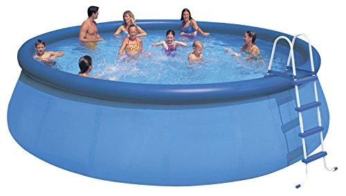 Intex Aufstellpool Easy Set Pools Blau Ø 457 x 122 cm