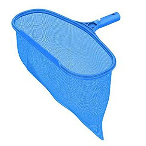 RingSun Pool Kescher Netz Reinigungsset Kescher Leaf Skimmer net Pool Kescher-Aufsatz Oberflächenkescher zur Poolreinigung Blättern und Schmutz tief Laubkescher