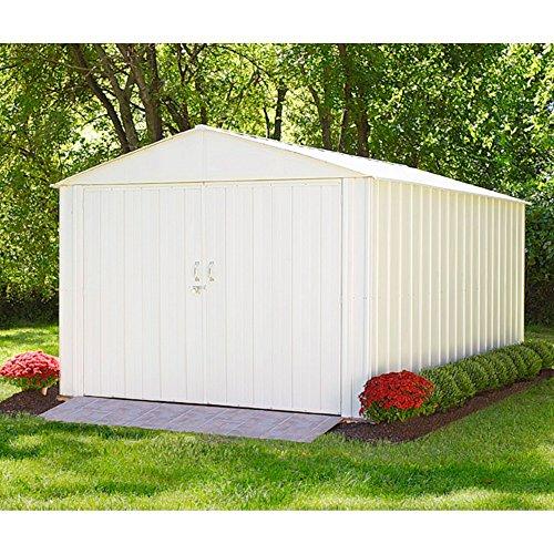 Arrow Metall-Gerätehaus Commander 1015 Gartenhaus Schuppen Garage 138 m²