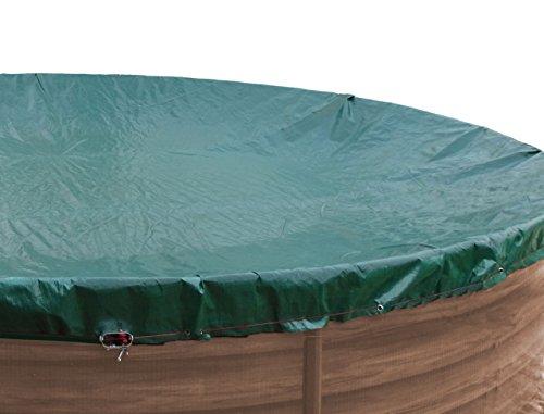 Abdeckplane Pool rund 400 cm Winterabdeckplane