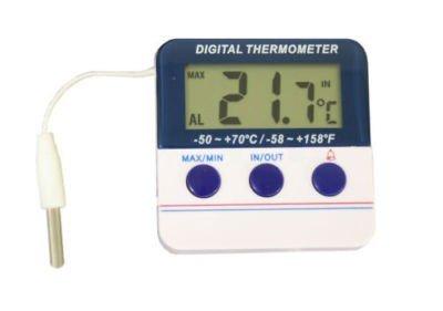 Koch 10881 Digitales Thermometer Plastik weiß 6 x 62 cm