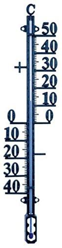 Koch Thermometer Hauswandthermometer Metall schwarz