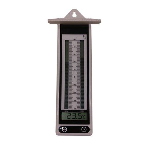 Koch Thermometer elektr MinimumMaximum Thermometer weiß