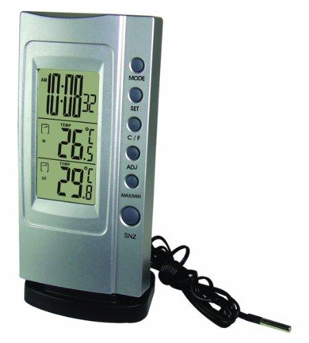 Koch elektr Thermometer BASIC silber