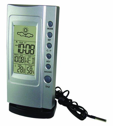 Koch elektr Thermometer Klimatimer Plus silber