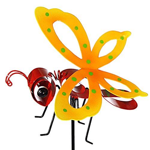 Gartenstecker Bunte Insekten  Schmetterling  ca 75 cm  Gartendeko  Gartenzauber  Wohnaccessoirs  Spring  Frühling  Ostern  Preis am Stiel